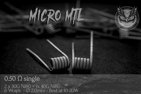 Aenigma Micro MTL - 1 Paar