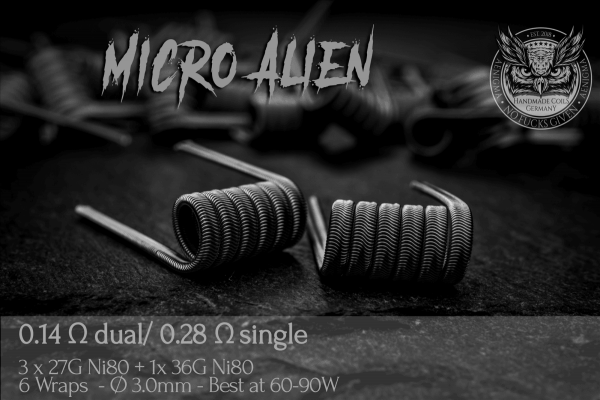 Aenigma Micro Alien - 1 Paar