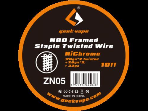 N80 Framed Staple Twisted Wickeldraht - ZN05