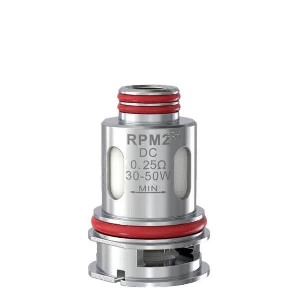 5x Smok - RPM 2 DC Coil Verdampferkopf 0.25 Ohm