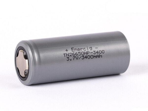 Enerpower (Enercig) TN 26650HP-3400mAh, (3200mAh) 3,6V - 3,7V, Li-Ion Akku (High Drain - 30A)