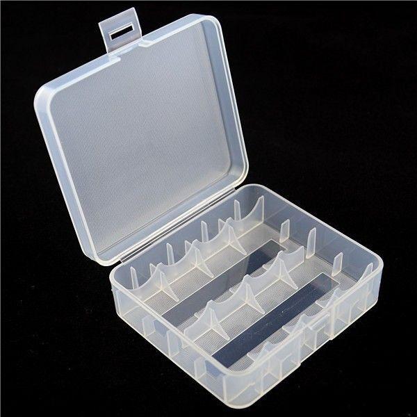 Akku Aufbewahrungsbox für 2x 26650 oder 4x 18650