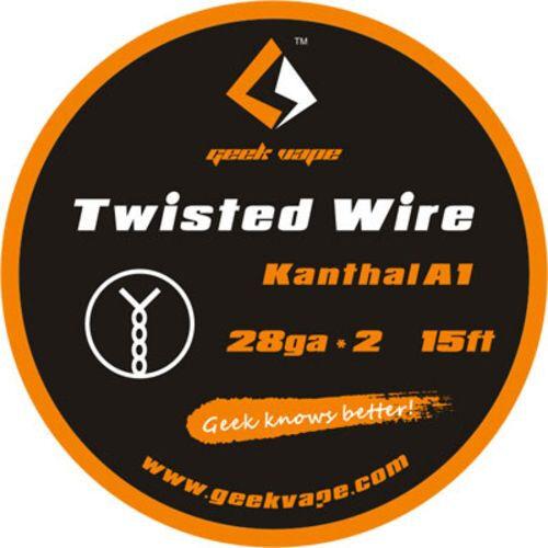 GeekVape Double Twisted Wire 2x 28GA / 26GA